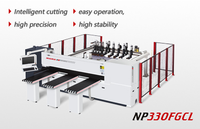 After loading high speed intelligent computer beam saw NP330FGCL