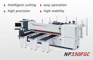 High speed intelligent computer beam saw NP-330FGC