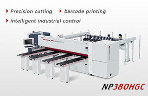High speed intelligent computer beam saw NP-380HGC
