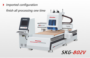 CNC Router( two spindles with drilling box)