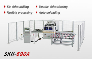 Heavy duty automatic six-sides CNC drilling machine SKH-690A