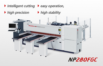 High speed intelligent computer beam saw  280FGC