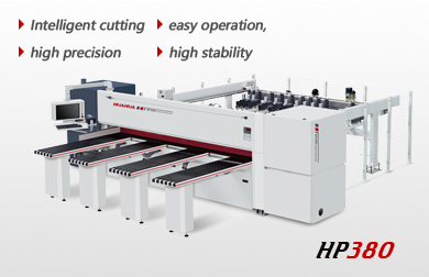 High speed intelligent computer beam saw HP380