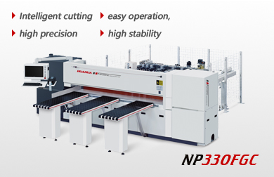 High speed intelligent computer beam saw NP330FGC