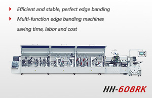 Automatic high speed edge banding machine HH507RK