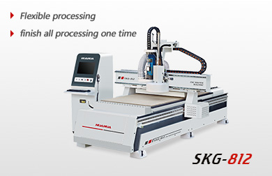CNC router( Auto tool changing spindle)