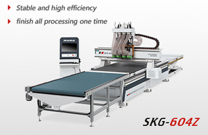 CNC router( four spindles, auto loading and unloading)
