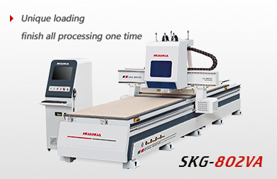 CNC router( two spindles, double worktable with drilling box)
