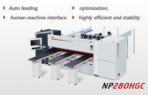 High speed heavy duty computer beam saw NP-280HGC